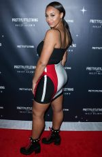 Nia Sioux At PrettyLittleThing x Hailey Baldwin launch event, Los Angeles