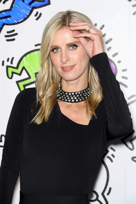 Nicky Hilton At Launch party for the Keith Haring X Alice + Olivia capsule collection in NY