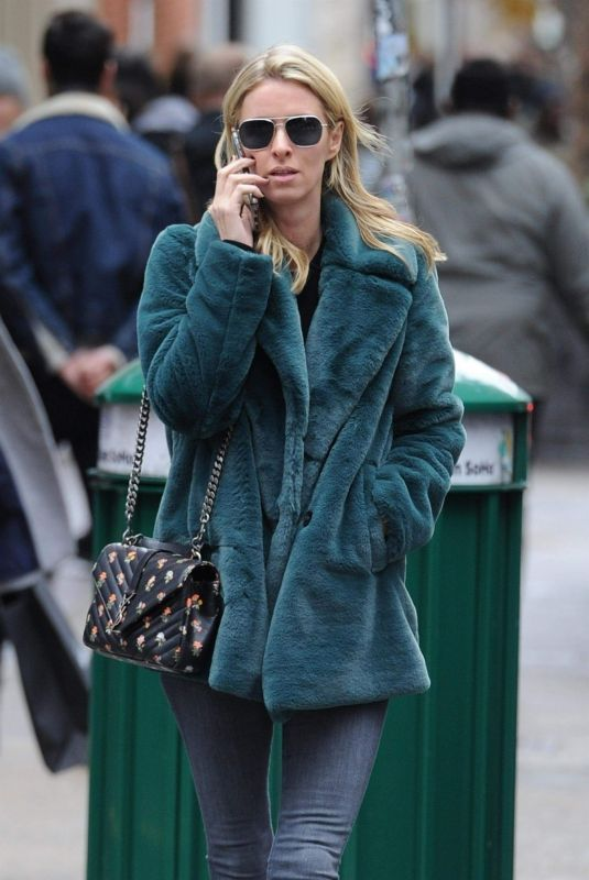 Nicky Hilton Out in Soho