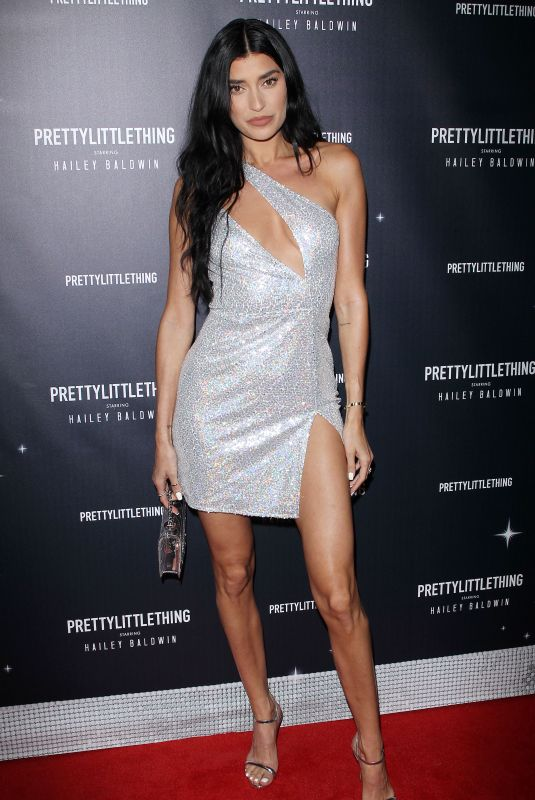 Nicole Williams At PrettyLittleThing x Hailey Baldwin Event in Los Angeles