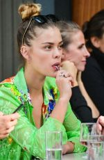 Nina Agdal Out for lunch at Bar Pitti in NYC