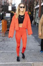 Nina Agdal Out in NYC