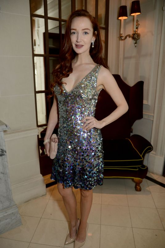 Olivia Grant At Jenny Packham x Dita Von Teese Dinner at The Connaught, London, UK