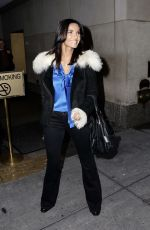 "Padma Lakshmi Leaving ""Today"" Show New York City"