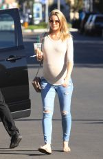 Paige Butcher Out in West Hollywood