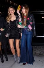 Paris Jackson At night out in New York City