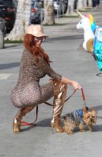 Phoebe Price Out and about in Beverly Hills