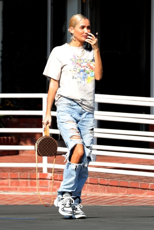 Pia Mia Relives her childhood in a vintage Pokemon shirt while leaving Fred Segal