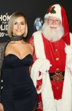 Pia Toscano At The Grove Christmas Tree Lighting in Los Angeles