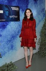 Rachel Brosnahan Kicks off the holidays and keeps it simple with the American Express Cash Magnet Card, New York