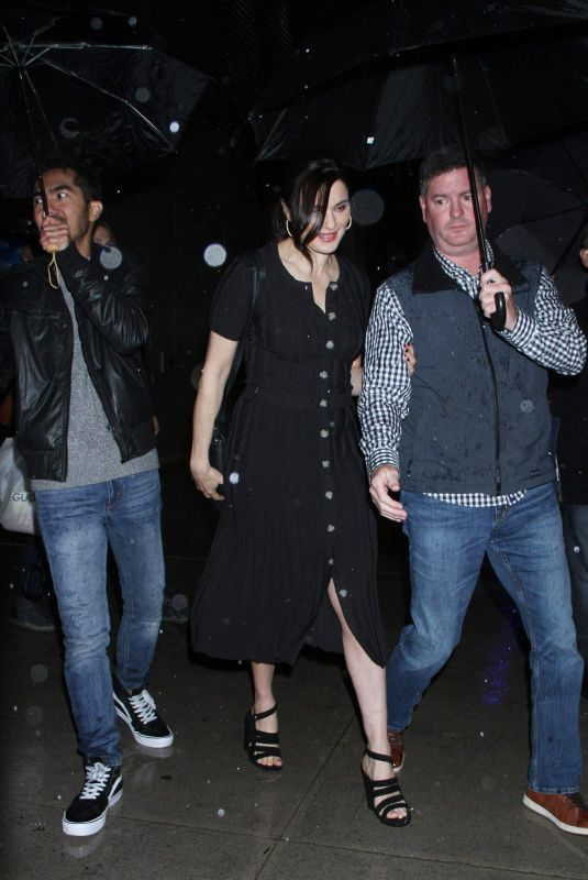 """Rachel Weisz Arrives to the screening of """"The Favourite"""" at Robin Williams Theatre"""