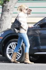 Rebecca Gayheart Gets a parking ticket in Studio City