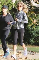 Reese Witherspoon On a morning run in Brentwood