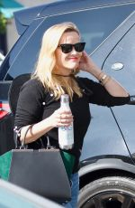 Reese Witherspoon Outside her office in Los Angeles