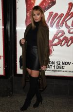 Rhian Sugden At Kinky Boots Press Night at The Opera House Theatre in Manchester