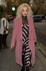 Rita Ora During a signing session for her new album at HMV Oxford Street in London