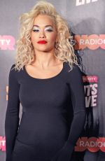 Rita Ora Performs live at Radio City Hits Live at The Echo Arena in Liverpool