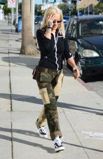 Rita Ora Shops for furniture with a male friend in West Hollywood