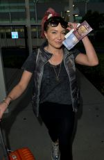 Rita Simons Arriving At Brisbane Airport in Australia