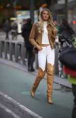 Romee Strijd Outside the Victoria