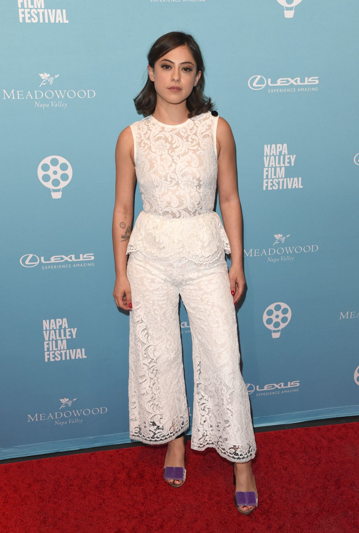 825f7253c Rosa Salazar At The 8th Annual Napa Valley Film Festival - Celebzz