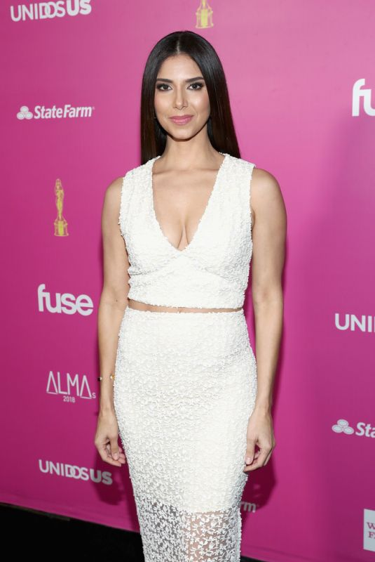 Roselyn Sanchez At ALMAs 2018 LIVE On Fuse in Los Angeles