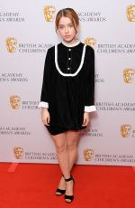 Rosie Day At British Academy Children