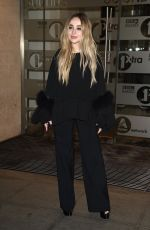 Sabrina Carpenter Arriving at the BBC Radio 1 Studios in London
