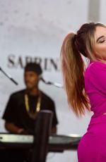 Sabrina Carpenter On the Today Show in NYC
