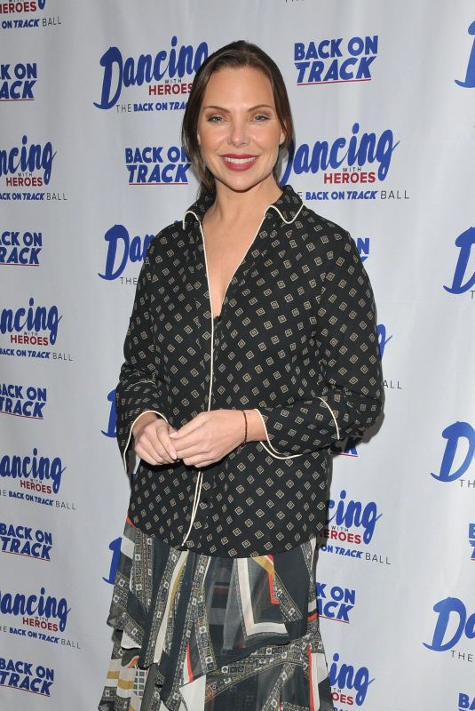 Samantha Womack At Dancing With Heroes charity fundraiser, London, UK