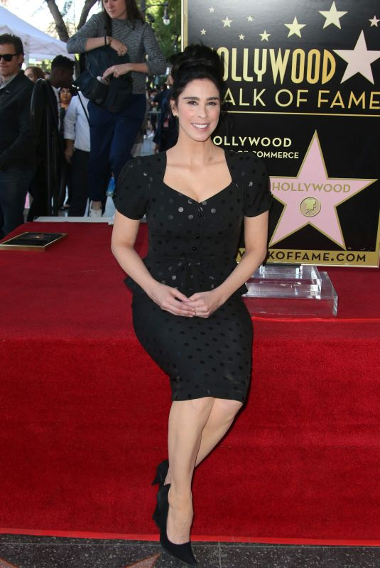Sarah Silverman Honored With Star On The Hollywood Walk Of Fame