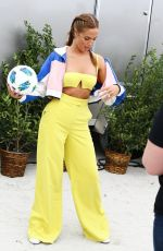 Selena Weber Attends the Sports Illustrated swimsuit soccer event in Miami