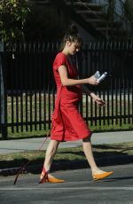 Shailene Woodley On the set of her untitled Drake Doremus project in LA