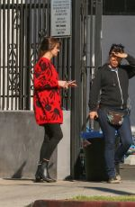 Shailene Woodley Takes a break on the set of her untitled Drake Doremus project in LA