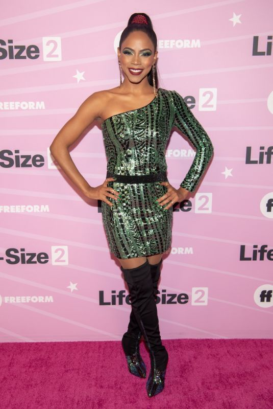 "Shanica Knowles At ""Life Size 2"" World Premiere in Hollywood"