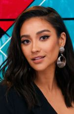 Shay Mitchell Visits the Young Hollywood Studio in LA