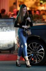Sofia Vergara Out for dinner in Beverly Hills