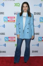 Sophia Bush At Telethon For America at YouTube Space LA