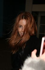 Stacey Dooley Arriving At The Big Blue Hotel In Blackpool