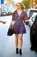 Stacy Keibler Grabs an early dinner in Beverly Hills