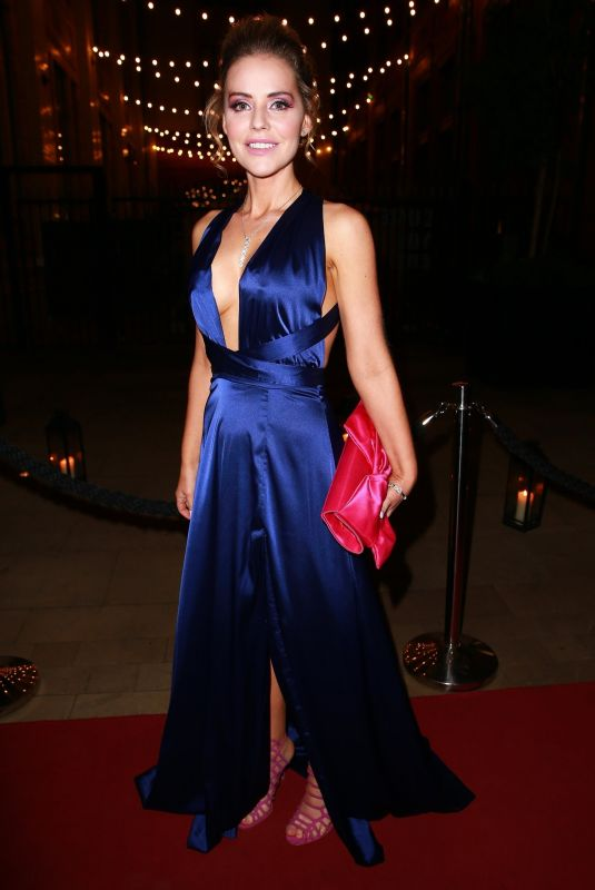 Stephanie Waring At The Move Mountains ball in aid of the bring hope charity at the principle hotel Manchester