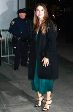 Sutton Foster At MoMA Film Benefit Honoring Martin Scorsese in New York