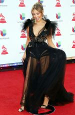 Thalia At Latin Grammy Awards 2018