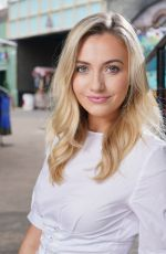 Tilly Keeper At Kieron McCarron Photoshoot for Eastenders 2018