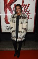 Tisha Merry At Kinky Boots Press Night at The Opera House Theatre in Manchester