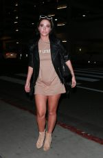 Tulisa Contostavlos Out for dinner in Santa Monica