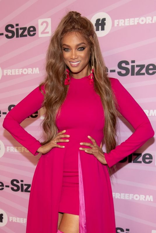 "Tyra Banks At ""Life Size 2"" World Premiere in Hollywood"