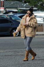 Vanessa Hudgens Running errands in Los Angeles