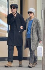 Vanessa Paradis Out for a romantic stroll in Paris