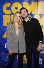 Veronica Dunne At Opening night performance of